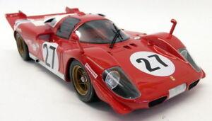 CMR 1/18 Scale - 031 Ferrari 512S Longtail #27 24H Daytona 1970 Resin model car