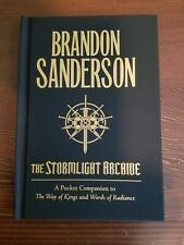 Brandon Sanderson: STORMLIGHT ARCHIVE: A POCKET COMPANION (2016) - NEW & UNREAD