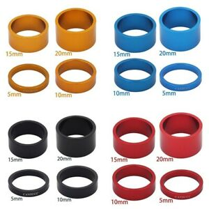 Bicycle Headset Spacer Kits MTB Road  Bike Headset Washer Front Stem Fork Spacer
