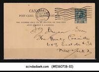 CANADA - 1913 1c KGV POSTCARD NEW YORK USA