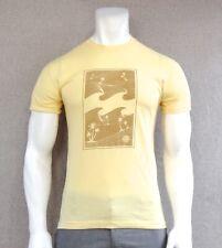 New Billabong Surf Crew Core Fit Block Yellow Logo Mens S/S T Shirt RBBL-46