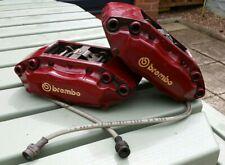 Brembo GT Junior Red Big Brake Calipers VW Skoda Audi Seat Fiat 4 piston