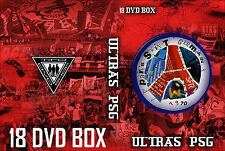 17 DVD BOX ULTRAS PSG   || PARIS || CASUALS ||ULTRA || HOOLIGANS ||TIFO ||
