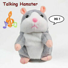Talking Hamster Plush Mouse Pet Toy Speak Sound Record Interactive Toy Kids Gift