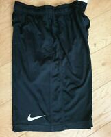 Mens NIKE Running Shorts Knit Breakline Black UK L 371638-010 Black (QQ)