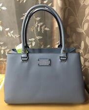 NWT Kate Spade Wellesley Elena Blue Dawn Handbag Tote Purse Authentic $428