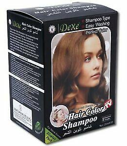 Dexe hair colour Hair Shampoo For Men & Women - Chestnut Brown