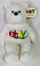 Plush eBay Magazine 1999 Limited Edition Grand Paw Bear Beanie Bean Bag Vintage