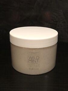 The White Company Wild Mint Hand Scrub, Peppermint & White Tea, 380g - NEW