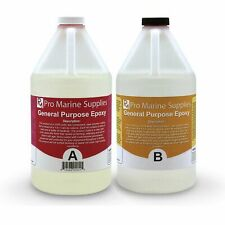 Crystal Clear Epoxy Resin General Purpose Bar Table Top Coating - 1 Gallon Kit