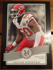 2015 Topps Museum 5X7 Justin Houston Kansas City Chiefs  #/49