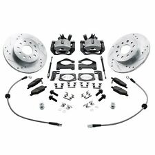 ZZPerformance Chevy Sonic Rear Disc Brake Conversion Kit.  No More Drums!