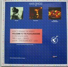 FRANKIE GOES TO HOLLYWOOD - WELCOME TO THE PLEASUREDOME - MAXIE-SINGLE - 45 RPM