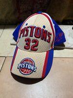 NBA Detroit Pistons Richard Hamilton #32 Drew Pearson Signature Baseball Hat EUC