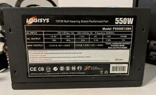 LOGISYS Computer PS550E12BK 550W ATX12V Power Supply 12CM Ball-Bearing Silent Fn