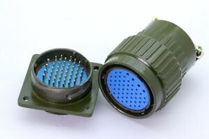 Military style 50 pin Plug and Chassis Socket