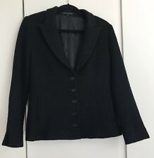 Theory Woven Wool Blazer Jacket Size Large