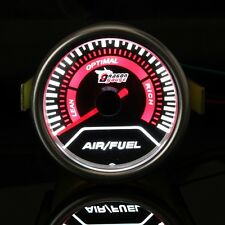 Universal Auto Red Led Air/Fuel Ratio Car Motor Gauge Meter Smoke Len