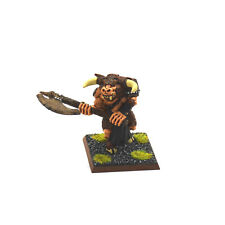 BEASTMEN Minotaur #4 WELL PAINTED METAL Warhammer Fantasy