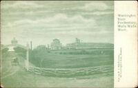 Walla Walla WA State Penitentiary Prison c1905 Postcard