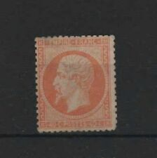 "FRANCE STAMP TIMBRE N° 23 "" NAPOLEON III 40c ORANGE 1862 "" NEUF x A VOIR R341"