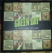 GREEN DAY BOX SET 8 CD STUDIO ALBUMS 1990 - 2009