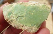 variscite gem green rough ithaca peak mohave county arizona 34.8 grams