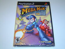 MEGAMAN MEGA MAN ANNIVERSARY COLLECTION SONY PLAYSTATION 2 PS2 USA *BRAND NEW*