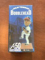 50 Years in Atlanta Braves Baseball Bobblehead Julio Teheran