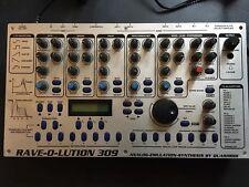 Quasimidi Rave-O-nete 309 Synthesizer Drum Machine Sequencer mit Drum Expansion