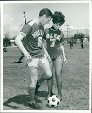 1968 Anthony Knapp LA Wolves Soccer Original News Service Photo