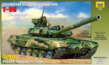 Zvezda 1/35 T-90 Russian Main Battle Tank # 3573