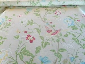 Laura Ashley Summer PalaceLinen Fabric (per metre) FREE DELIVERY