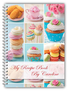 A5 PERSONALISED RECIPE PLANNER, WRITE YOUR OWN RECIPES,HEALTHY RECIPE BOOK,08