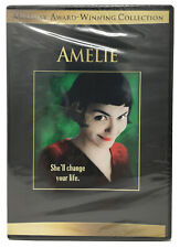 Amelie Dvd Widescreen Movie (Audrey Tautou) Miramax/Lionsgate-Comedy- New/Sealed