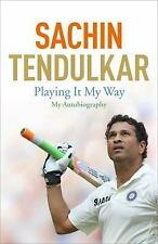 Playing It My Way: My Autobiography by Tendulkar, Sachin in Used - Like New