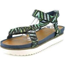 Calzado de mujer sandalias con tiras verde