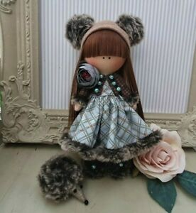 Rag doll handmade in the UK Tilda doll Ooak doll Art doll REBECCA 8 inch tall