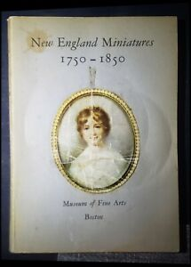 "1957 Book""New England Miniatures 1750-1850""Barbara Parker MFA Museum of Fine Art"
