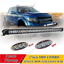 37 INCH 180W CREE Led Light Bar Flood Spot Combo Driving Offroad 4x4WD Truck ATV
