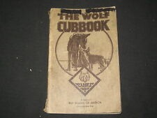 The Wolf Cubbook, Nov. 1938 printing              j13
