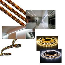 1 X 5m Autoadhesivo debajo del gabinete de tira de LED de iluminación 12v Led Cinta Luz W/white
