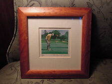 "Limited Edition print ""golf jugadores"" firmado bryan Horton Inglaterra aprox. 1995"