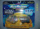 Micro Machines Star Wars Set - X-RAY FLEET COLLECTION 3