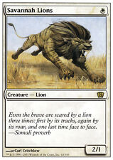 MTG SAVANNAH LIONS - EXC - LEONI DELLA SAVANA - 8TH