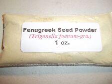 1 oz. Fenugreek Seed Powder (Trigonella foenum-graecum)