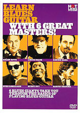 Learn Blues Guitar With 6 Great Masters Lesson Book DVD