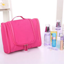 Rose Large Hanging Toiletry Bag Cosmetic Makeup Wash Travel Organizer Pouch KM02