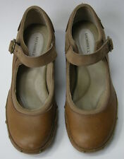 Merrell Shoes Tan Mary Jane Ankle Strap Womens Size 7