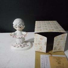 Precious Moments Figurine You Have Touched So Many Hearts E-2821